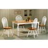 5-Pc Natural And White Finish Dinette Set 4147/4073 (CO)
