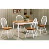 5-Pc Dinette Set In Natural/White 4160/4071 (CO)