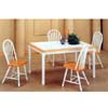 5-Pc Natural/White Dinette Set 4161/4133 (CO)