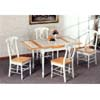 5-Pc Dinette Set In Natural/White Finish 4165-17 (CO)