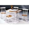 5-Pc Natural/White Dinette Set 4165-517 (CO)