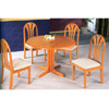 5-Pc Round Solid Wood Dinette Set 4175-53 (CO)