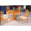 5-Pc Dining Set In Oak Finish 4175-55 (CO)