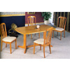 5-Pc Dining Set In Oak Finish 4177-57 (CO)