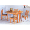 5-Pc Set Solid Wood Table And Chairs 4180-21 (P)