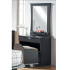 Espresso Vanity Chest and Mirror 4180(NX)