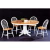 5-Pc Solid Wood Dinette Set In Natural/White 4196/29 (CO)