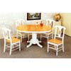 5-Pc Dinette Set In Natural/White 4196/4117 (COf)