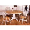 5-Pc Natural/White Dinette Set 4196/4152 (CO)