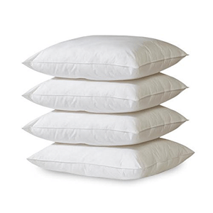 4- Pack Hypoallergenic Down Alternative Breathable Bed Pillows (AZFS)
