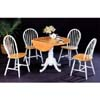 5-Pc Natural/White Dinette Set 4241/4129 (CO)