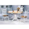 5-Pc Dining Set In Natural/White 4253-03 (CO)