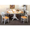 5-Pc Dining Set In Natural/White 4253/4117 (CO)