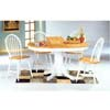 5-Pc Dinette Set In Natural/White 4254/4129 (CO)