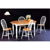 5-Pc Dinette Set In Natural/White 4258/4129 (CO)