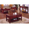 Dark Cherry Finish Coffee Table CM4265C-L (IEM)