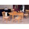 5-Pc Maple Finish Dinette Set 4267/4278 (CO)
