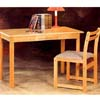 2-Pc All Natural Desk And Chair Set 4272 (CO)