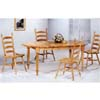5-Pc Dinette Set In Natural 4273/4702 (CO)