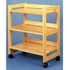 All Natural 3 Shelf Storage Cart 4287 (CO)