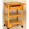 All NAtural Kitchen Cart 4291 (CO)