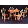 5-Pc All Natural Dinette Set 4341/4127 (CO)