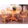 5-Pc Natural Dining Set 4350/4205 (CO)