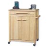Storage Hardwood Work Island 43513NAT-01-KD-U (LN)