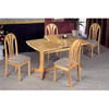 5-Pc Dining Set In Natural Finish 4363/4355 (COu)