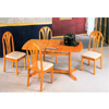 5-Pc Dinette Set In Oak Finish 4365/4353 (CO)