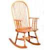 Oak Finish Rocker 4380 (CO)