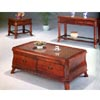 Solid Wood Wicker Brown Coffee Table 4386 (CO)