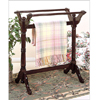 Heirloom Cherry or Oak Towel/Blanket Rack 44_Z(PW)