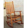 Oak Finish Porch Rocker 4511 (CO)