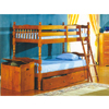 Twin-Twin Spindle Bunk Bed 606(IEM)