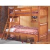 Louis Phillipe Youth Bunkbed 460083 (CO)