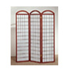 Cherry Finish Three Panel Screen 4671(CO)