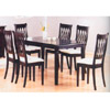 5 Pc Cappuccino Finish Dinette Set 48110/47133 (VL)