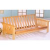 Natural Finish Trimline Futon Frame 4838 (CO)