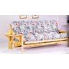 Natural Finish Futon Sofa With Side Tray 4849 (CO)