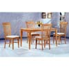 5-Pc Dining Set In Maple Finish 4856/4898 (CO)