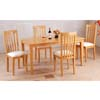 5-Piece Maple Finish Dinette Set 487M (IEM)