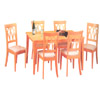 5 Pc Dinette Set In Golden Oak Finish 906 (P)