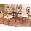 5 Pc Metal Dinette Set 4983/47140 (VL)