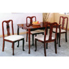 5-Pc Cherry Finish Queen Ann Dinette Set 5030/00C (PJu)
