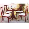 5-Pc Cherry Finish Queen Ann Dining Set 5040/5000C (PJ)