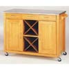 California Kitchen Cart In Natural Finish 5060 (CO)