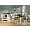 7-Pc Capuccino And Buttermil Dinette Set 5067-68 (CO)
