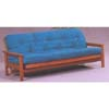 Oak Finish Wood Futon Frame 50751 (WD)