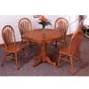 5-Pc Oak Finish Dining Set 5245/76A (CO)